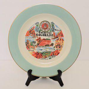 Vintage US State plate Colorado EUC